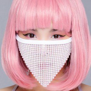 COPY - Sparkle Frost AB Stone Crystal Face Mask